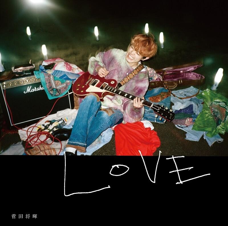 《LOVE》通常盤封面