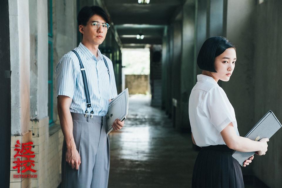 張明輝(左) 方芮欣(右)翻攝 返校臉書粉專